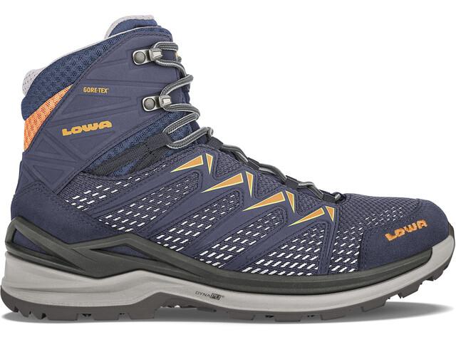 Lowa Innox Pro GTX Chaussures Femme, steel blue/salmon